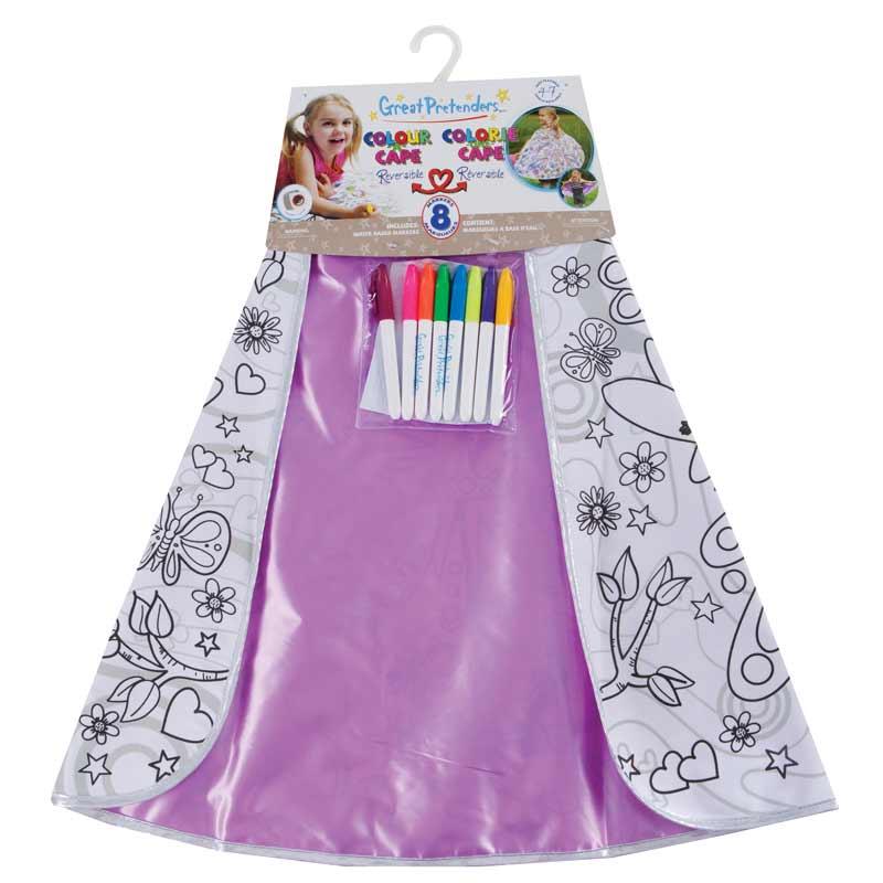 coloring cape for children