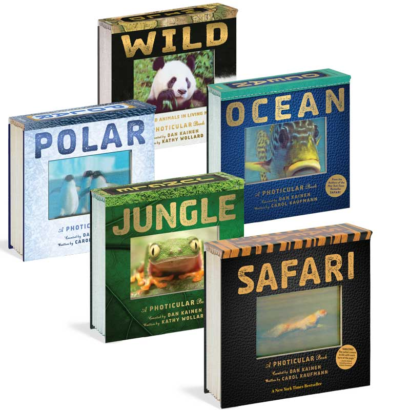 moving pictures book about animals